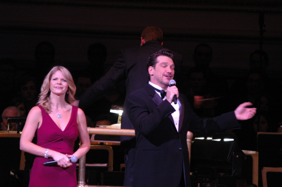 Photo Coverage: O'Hara and Szot Star in NY Pops - Best of Lerner & Loewe