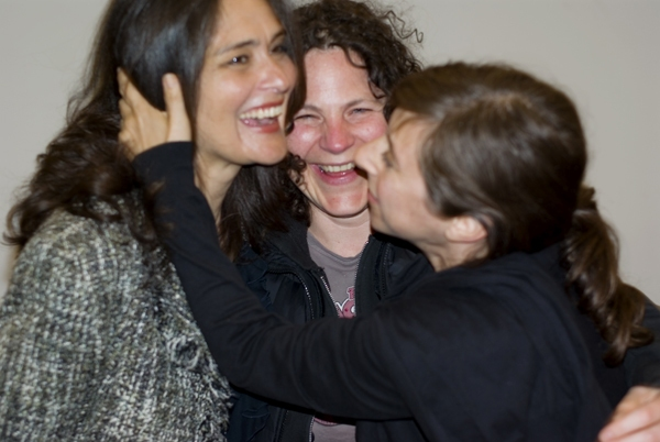 Cusi Cram, Lucy Thurber, Brooke Berman at Primary Stages Names Theater School After Marvin & Anne Einhorn