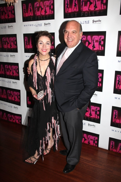 Christine Andreas and Husband Martin Silvestri at LA CAGE AUX FOLLES After Party!