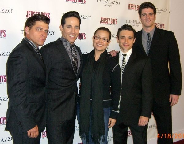 Deven May (Tommy DeVito), Jeff Leibow (Nick Massi), Lea Salonga, Rick Faugno (Frankie Photo