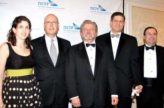Emily Peck, Bruce Whitacre, Robert Lynch, Jim Turley and Steve Bunson