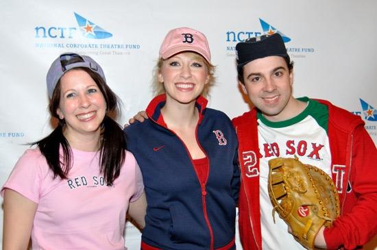 Kristen Wyatt, Kaitlyn Davidson and Burke Moses