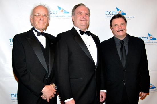 Eugene Lee, Joe Kirk & Nathan Lane at NCTF & Lily Tomlin Honor Nathan Lane, Eugene Lee et al.