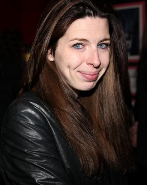 Heather Matarazzo at Leslie Jordan Backstage