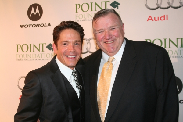 Dave Koz and Point Honoree David Mixner