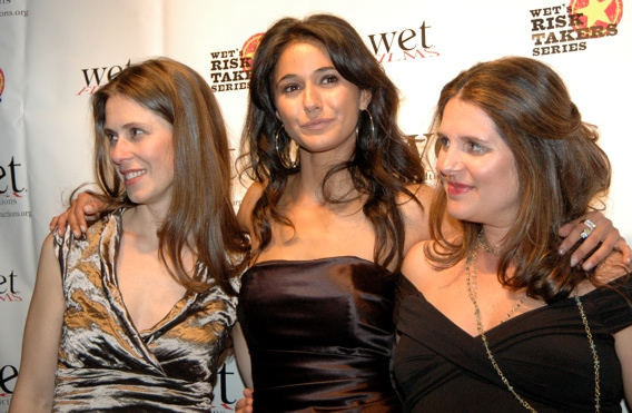 Victoria Pettibone, Emmanuelle Chriqui, and Sasha Eden