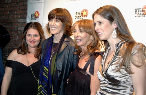 Sasha Eden, Nora Ephron, Lynda Obst and Victoria Pettibone