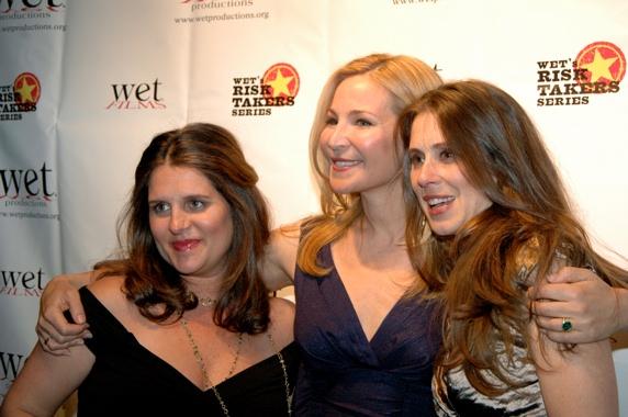 Sasha Eden, Jennifer Westfeldt, and Victoria Pettibone