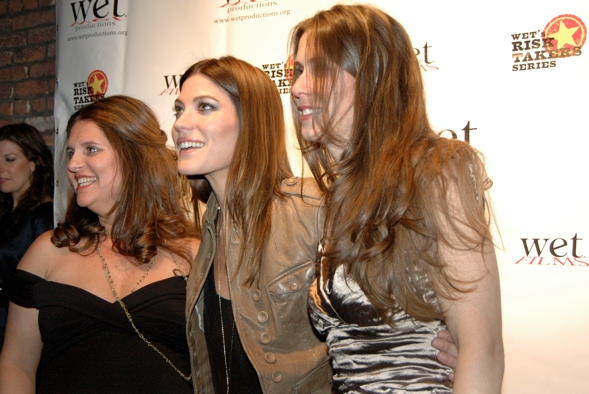 Sasha Eden, Jennifer Carpenter and Victoria Pettibone