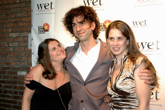 Sasha Eden, Hamish Linklater, and Victoria Pettibone