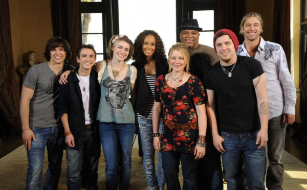 Alicia Keyes And the Top 7 On AMERICAN IDOL
