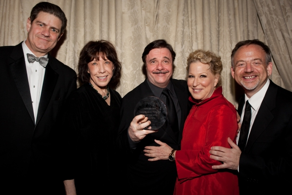 Jim Turly, Lily Tomlin, Nathan Lane, Bette Middler and Marc Shaiman