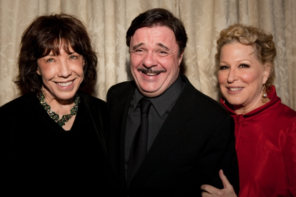 Lily Tomlin, Nathan Lane and Bette Middler