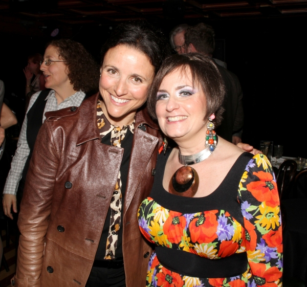 Julia Louis-Dreyfus and Shelly Goldstein Photo