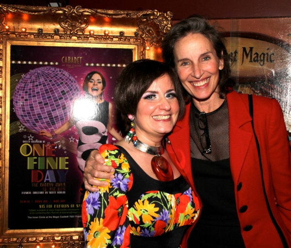 Shelly Goldstein and Andrea Marcovicci Photo