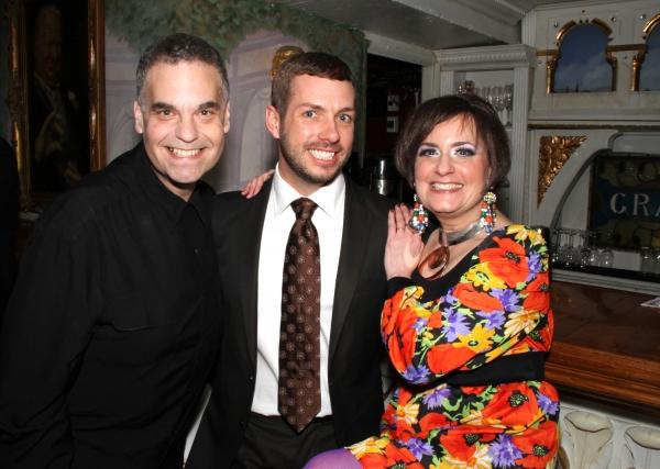 Scott Harlan, Matt Patton and Shelly Goldstein Photo