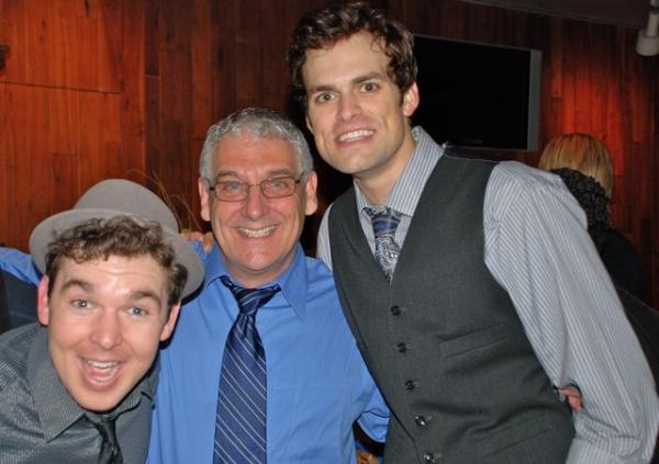 Matt Wolpe, Director Glenn Casale and Brandon Albright