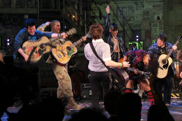 Photo Coverage: AMERICAN IDIOT Opening Night Curtain Call!