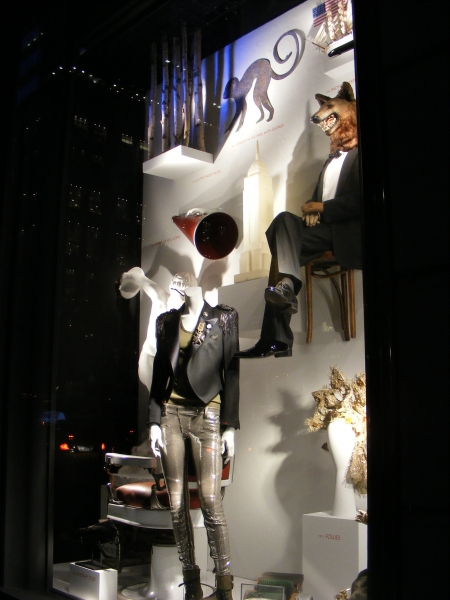 Photo Coverage: Bergdorf Goodman Honors Sondheim with Window Displays
