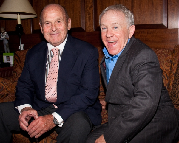 Dick Button and Leslie Jordan