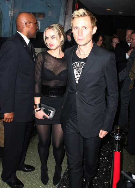 Mike Dirnt and Brittney Cade