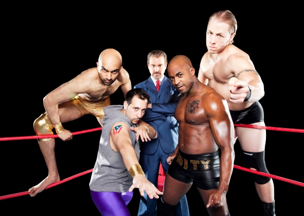 Usman Ally, Desmin Borges, Michael T. Weiss, Terence Archie, Christian Litke