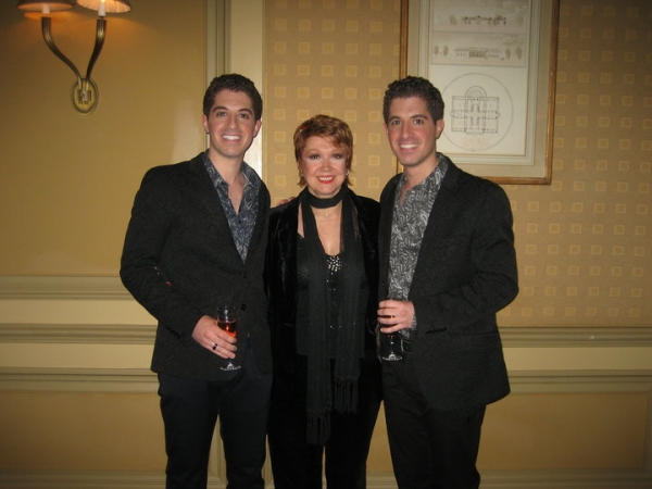 Anthony Nunziata, Donna McKechnie and Will Nunziata