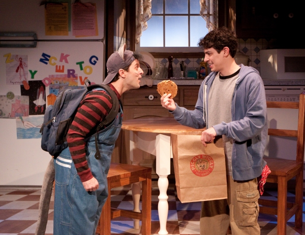 Steve Pacek as Mouse and David Raphaely as Boy