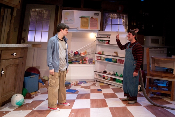 "�"" David Raphaely as Boy and Steve Pacek as Mouse"