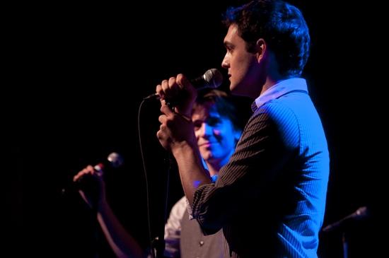 Photo Coverage: Matt Doyle Plays Joes Pub Feat. Damiano, Taylor & Hunton