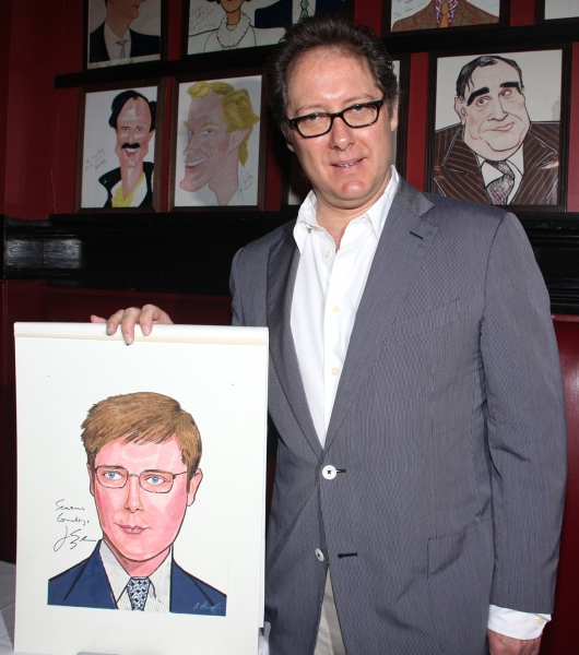 Photo Coverage: RACE Stars Receive Sardi's Portraits