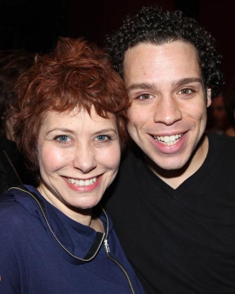 Cheryl Stern & Robin de Jesus at LA CAGE AUX FOLLES Gypsy Robe Ceremony!