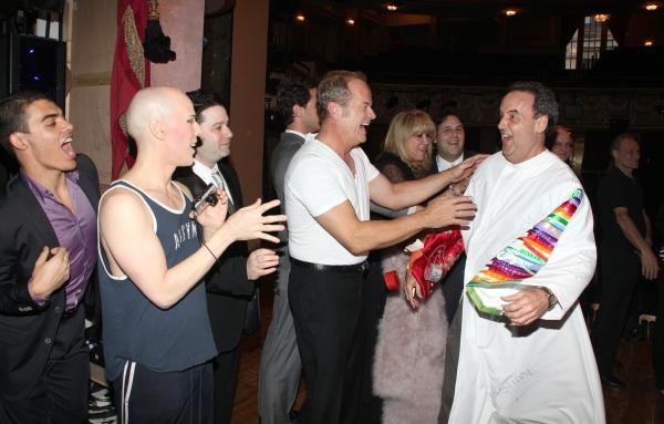 Dale Hensley (Gypsy Winner- La Cage) with Christophe Caballero, Jim Byk, Kelsey Gramm Photo