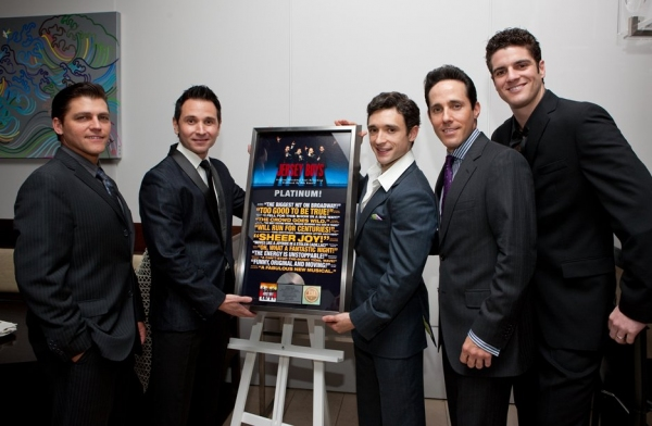 Deven May, Travis Cloer, Rick Faugno, Jeff Leibow and Peter Saide