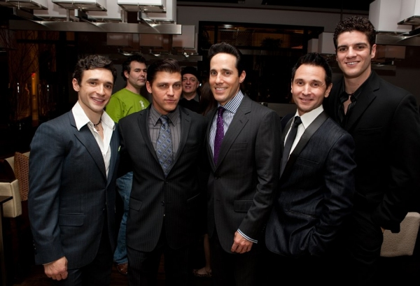 Rick Faugno, Deven May and Jeff Leibow, Travis Cloer and Peter Saide
