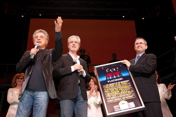 Frankie Valli, Bob Gaudio and Kevin Gore