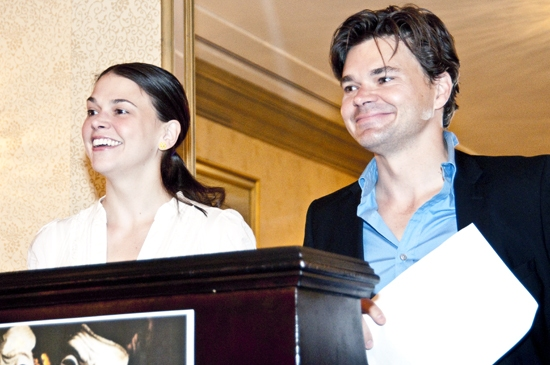 Photo Coverage: Outer Critics Circle announce 2009-2010 Theatre Nominations