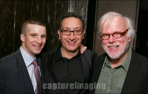 Brad Fleischer, Director Moises Kaufman and cast member Kevin Tighe