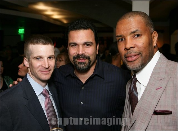 Brad Fleischer, actor Ricardo Chavira and Eriq La Salle