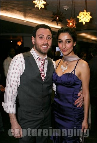 Hrach Titizian and Necar Zadegan
