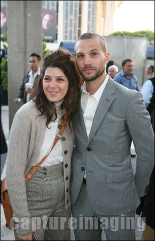 Marisa Tomei (L) and Logan Marshall-Green