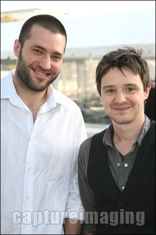 Zoran Korach (L) and James Immekus
