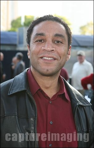 Harry Lennix at Opening Of BENGAL TIGER AT THE BAGHDAD ZOO At Mark Taper