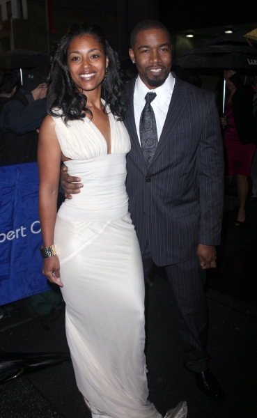 Michael Jai White and Wife