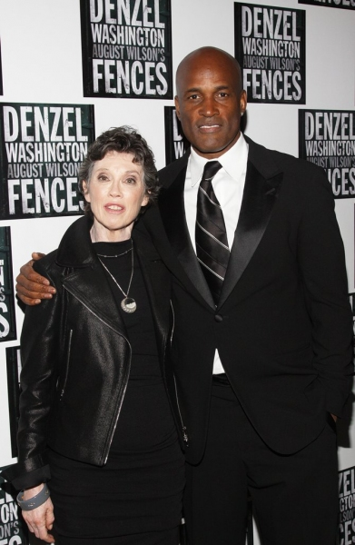 Carole Shorenstein and Kenny Leon