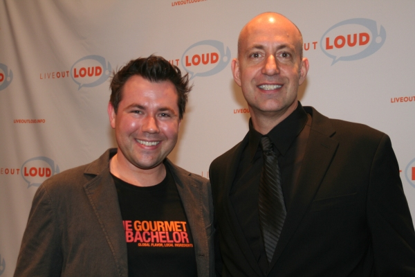 Chad Carns and Executive Director and Founder Leo Preziosi Jr.
