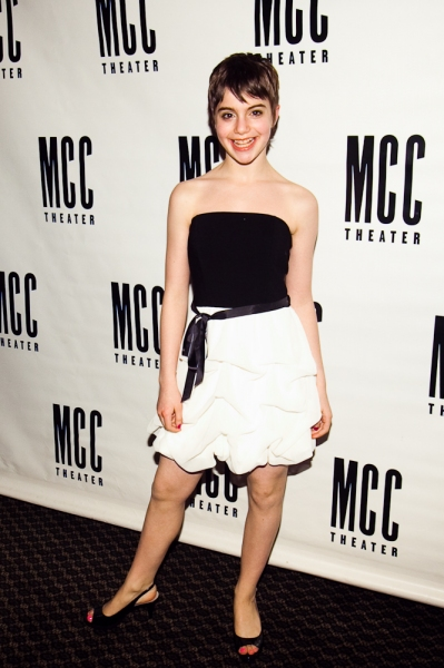 Sami Gayle at MCC Theater's FAMILY WEEK Opening Night
