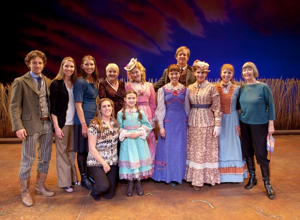 Melissa Gilbert and cast members from LITTLE HOUSE ON THE PRAIRIE, past and present