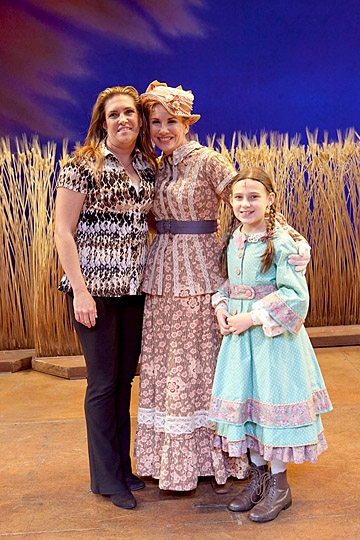 Rachel Greenbush, Melissa Gilbert and Anastasia Korbal