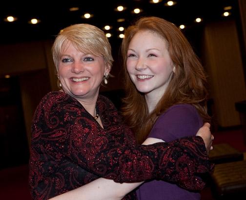 Alison Angrim and Caroline Innerbichler